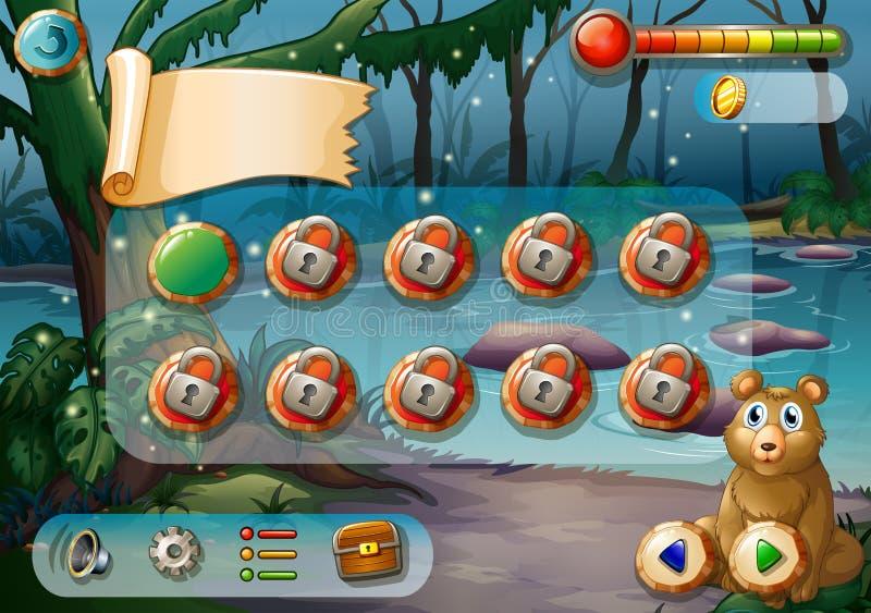 gioco illustrazione di stock