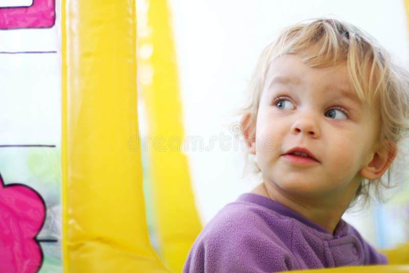 Gioco del bambino fotografia stock