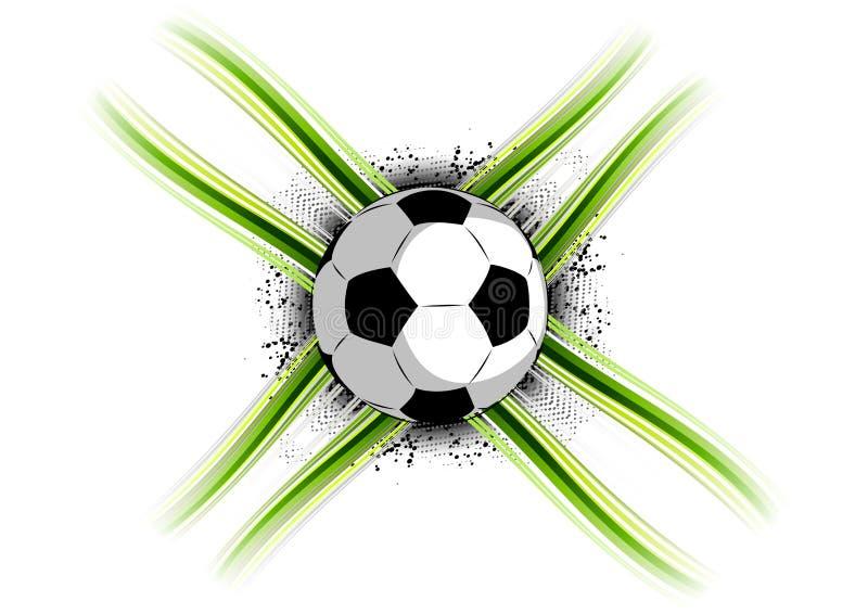 Gioco del calcio illustrazione di stock
