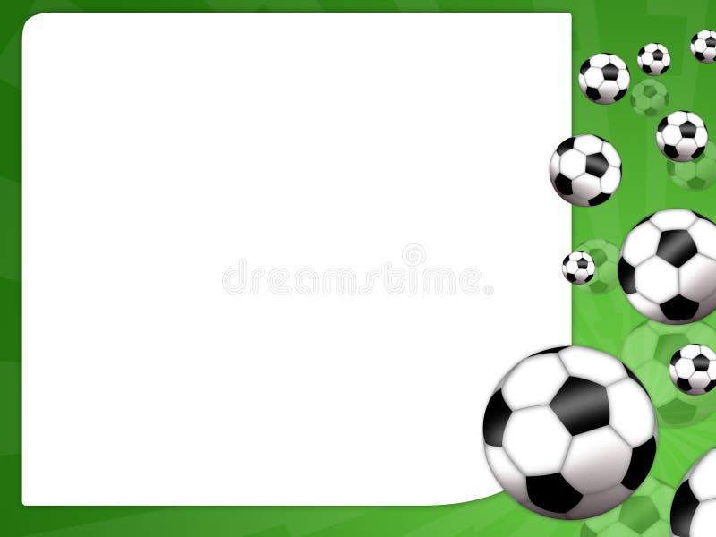 Gioco del calcio illustrazione vettoriale