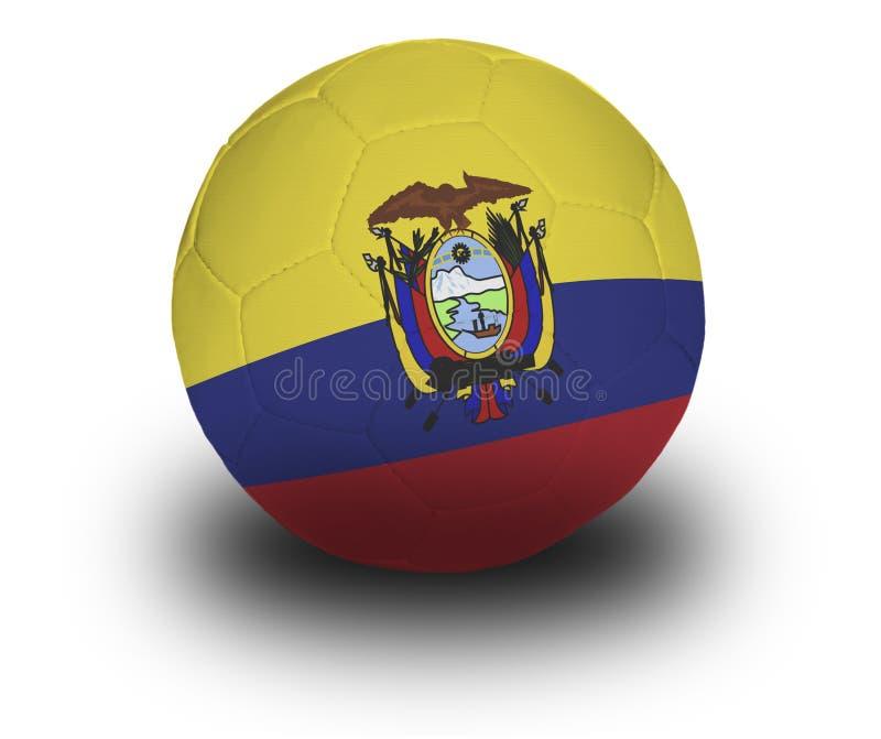 Gioco del calcio del Ecuadorian fotografie stock libere da diritti