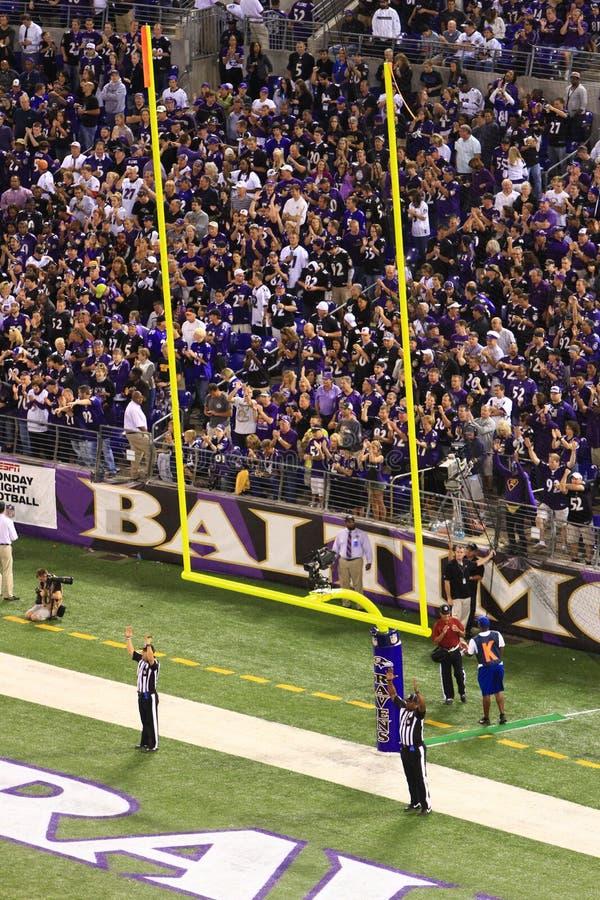 Gioco del calcio del NFL - il suo buon! immagine stock