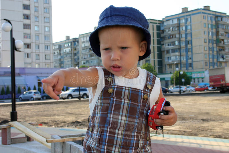 Gioco del neonato fotografie stock libere da diritti