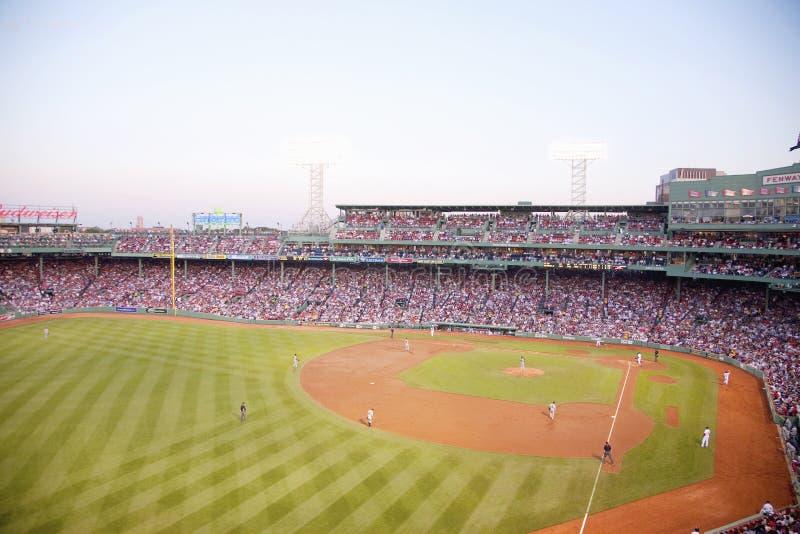 Gioco del Red Sox alla sosta di Fenway fotografia stock libera da diritti
