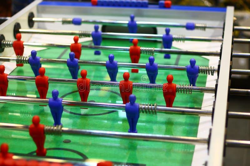 Gioco dell'interno di gioco del calcio della Tabella fotografia stock libera da diritti