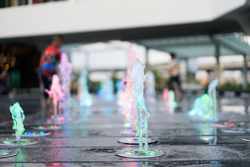 gioco della fontana fotografie stock