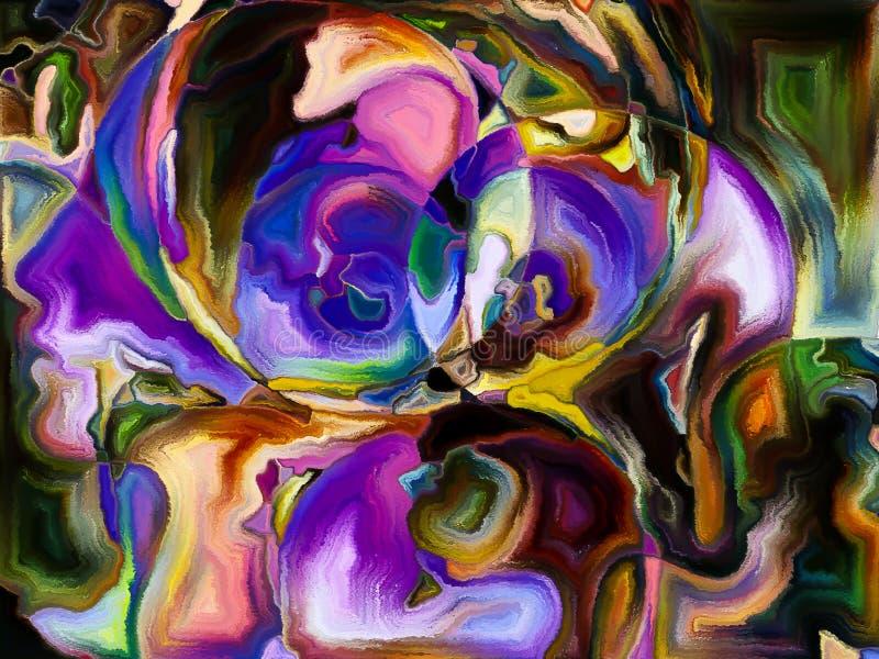 Gioco delle tonalità illustrazione vettoriale