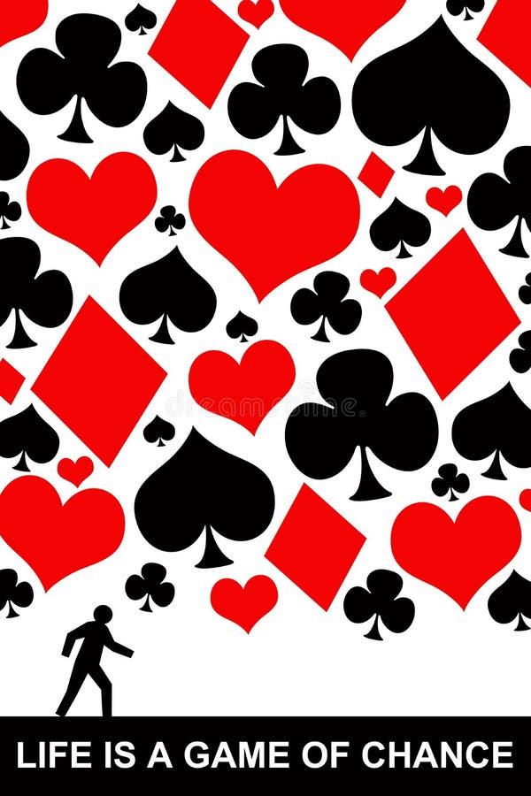 Gioco di azzardo illustrazione vettoriale