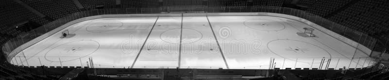 Gioco di hockey su ghiaccio fotografia stock