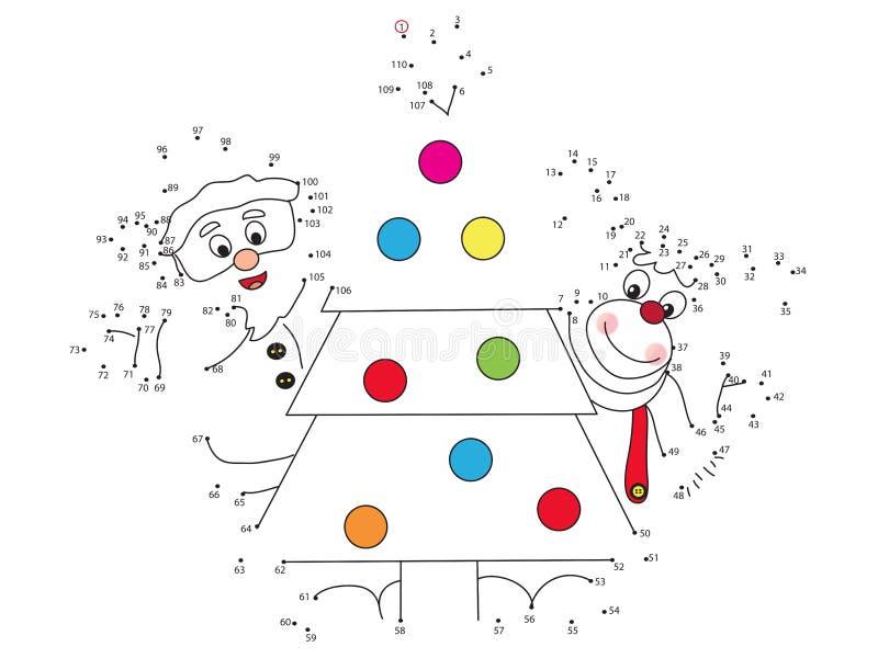 Gioco di Natale royalty illustrazione gratis