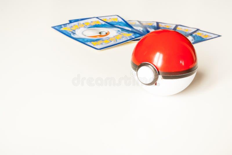 Gioco di Pokémon fotografia stock