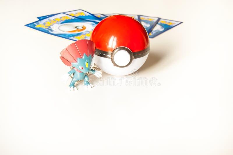 Gioco di Pokémon fotografie stock libere da diritti