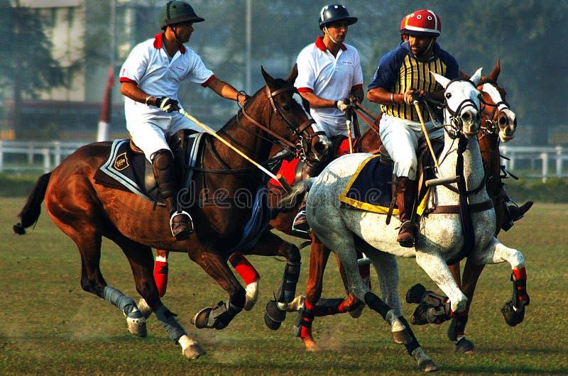 Gioco di polo dell'Kolkata-India fotografie stock