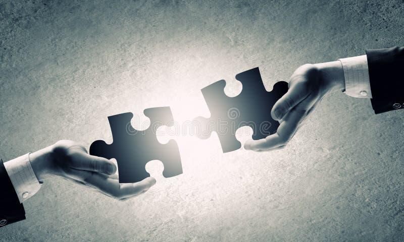Gioco di puzzle immagini stock libere da diritti