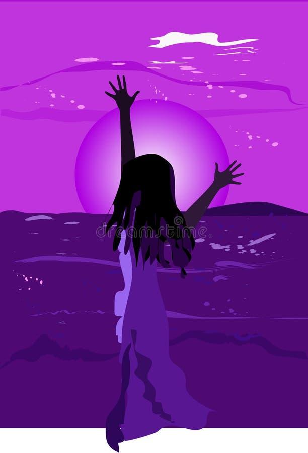 Download Gioco Nell'aumentare. Colore E Siluetta Illustrazione Vettoriale - Illustrazione di vernici, alba: 3894346