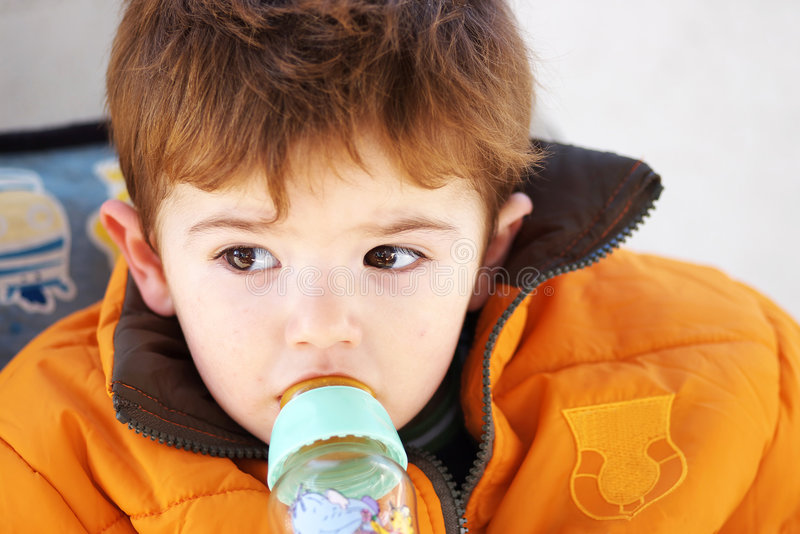 Gioia del bambino fotografia stock