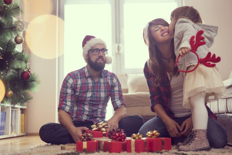 Gioia di Natale fotografia stock libera da diritti