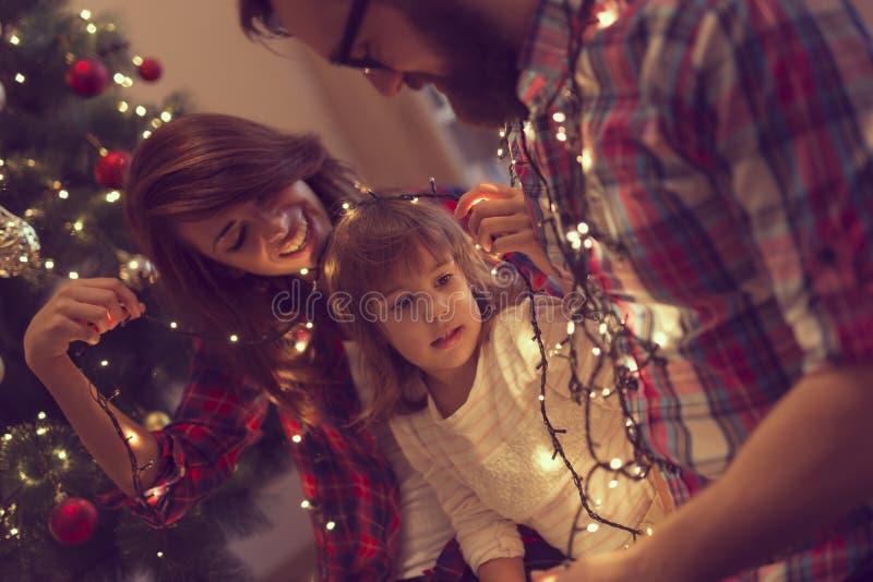 Gioia di Natale immagini stock