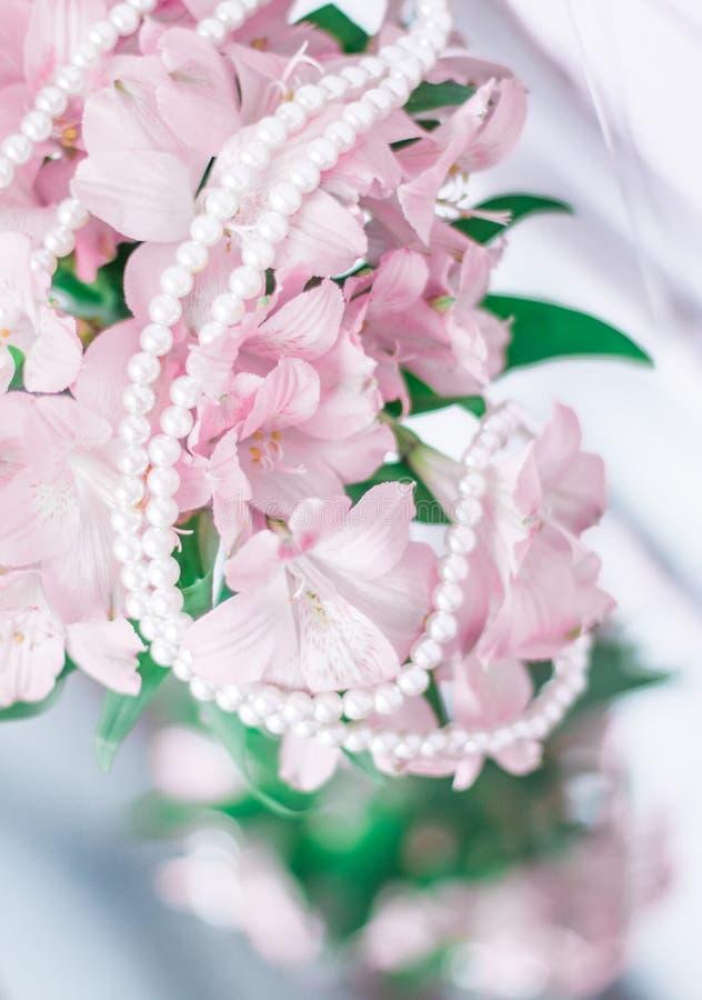 gioielli meravigliosi della perla fotografia stock libera da diritti