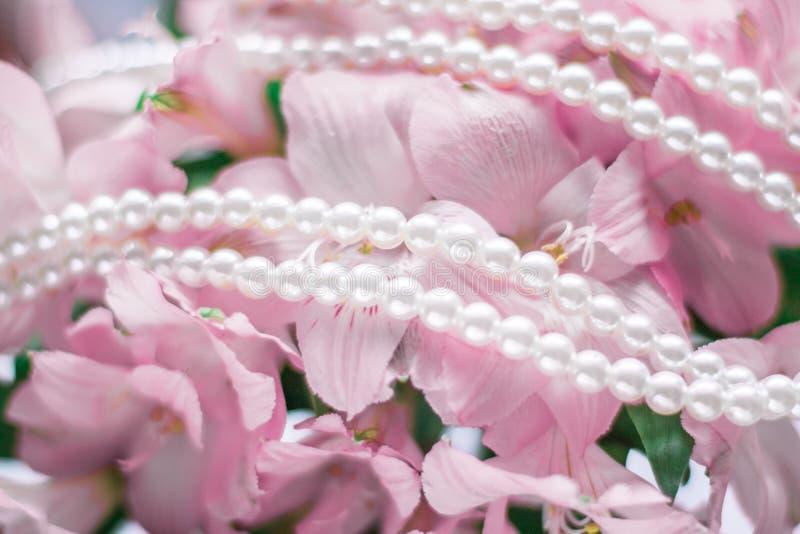 gioielli meravigliosi della perla immagine stock