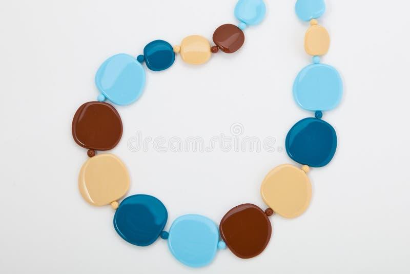 Gioielli, orecchini, perle, bianche immagine stock