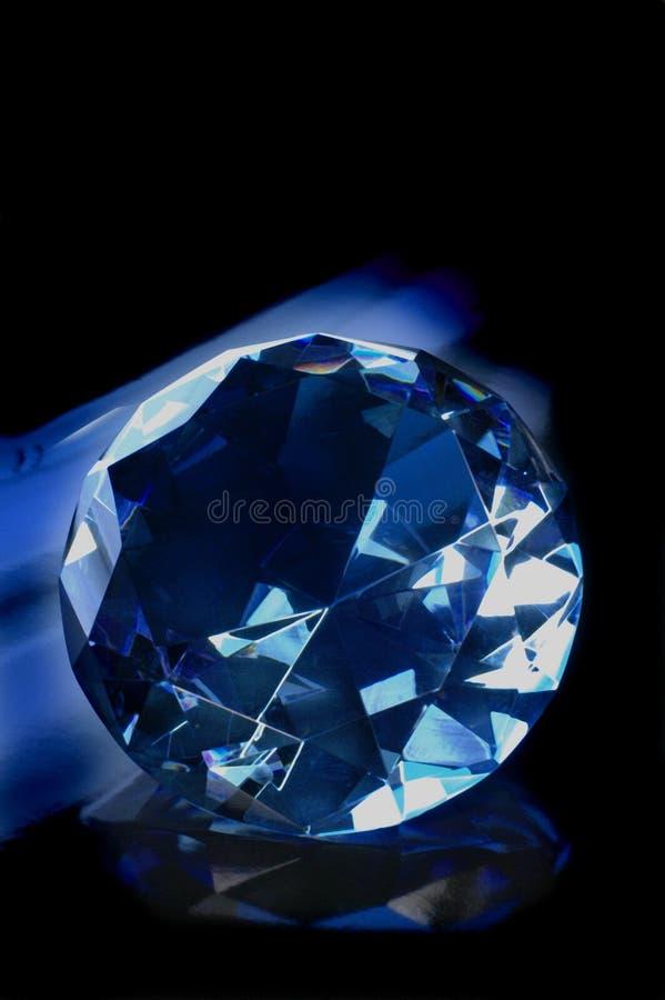 Gioiello blu fotografia stock libera da diritti