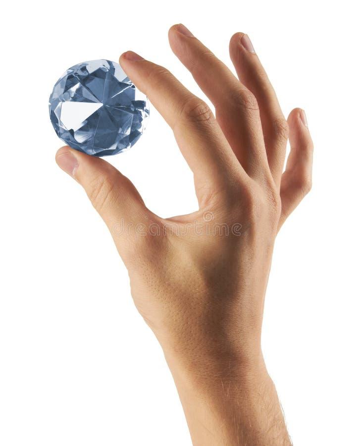 Gioiello del diamante disponibile fotografie stock libere da diritti