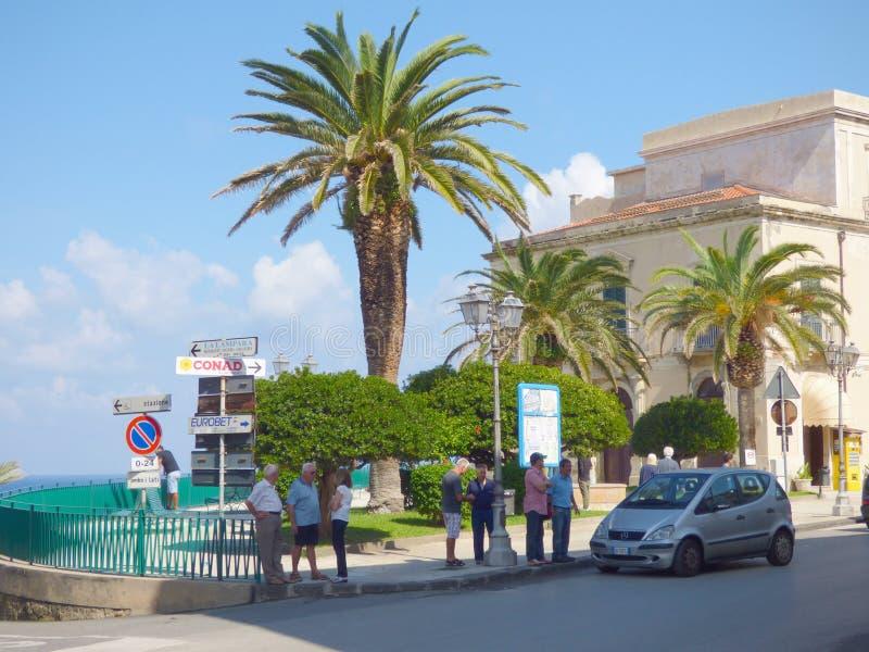 Gioiosa Marea, Sicilia, Italia fotografía de archivo libre de regalías