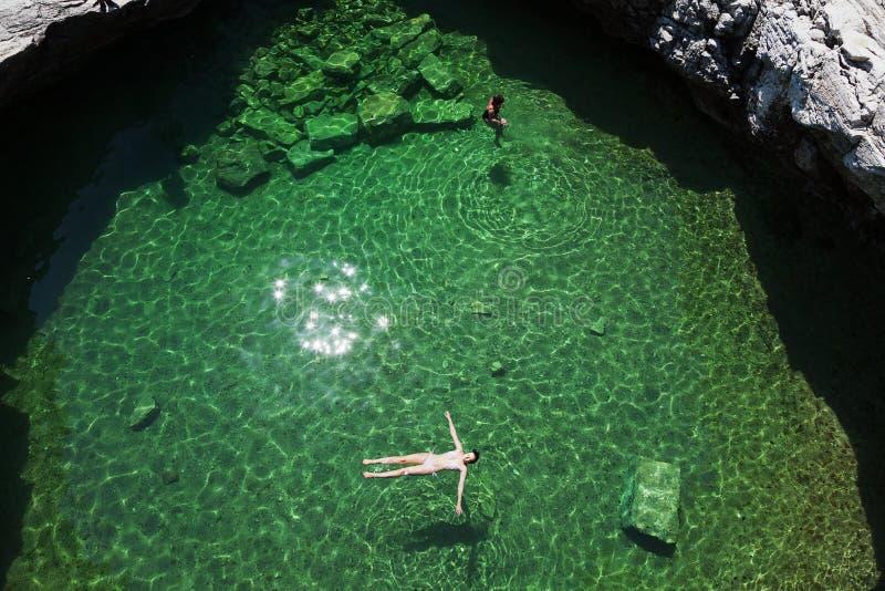 Giola, Thassos island, Greece stock image