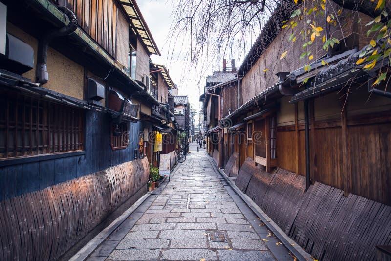Gion街道 库存照片