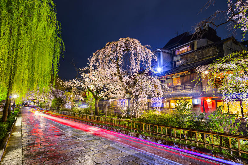 Gion District, Kyoto stock photo