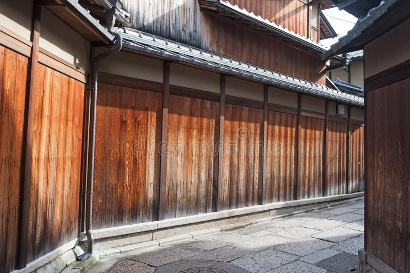 Gion district of Kyoto, Japan stock images