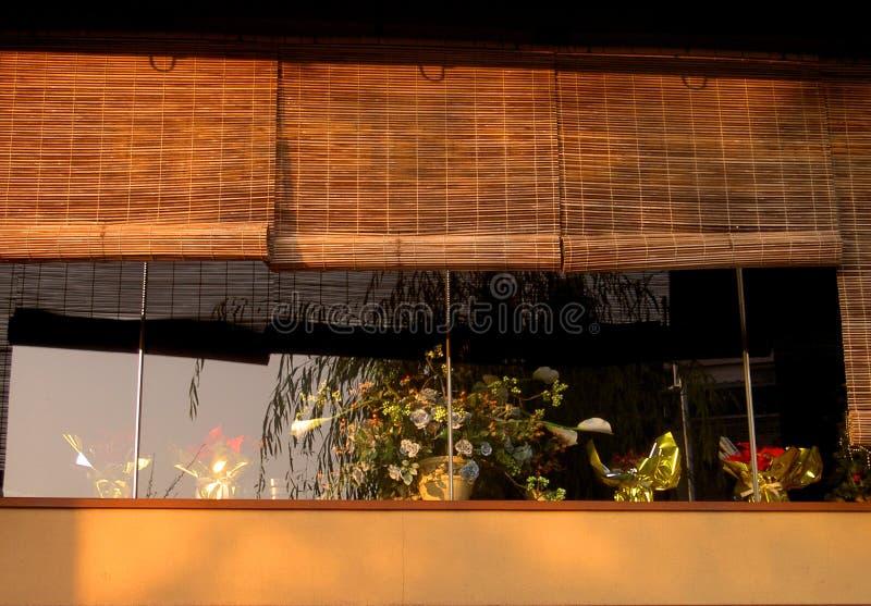 Gion Fenster Stockfotos