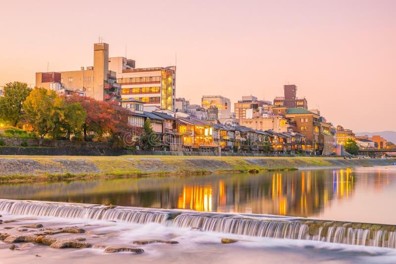 Gion, Kyoto, Japón foto de archivo libre de regalías