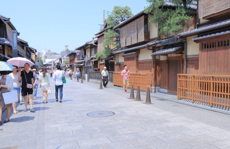 Gion Kyoto Japan. Gion district Higashiyama Kyoto Japan.n royalty free stock photo