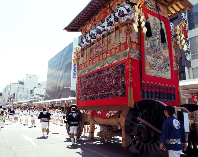 Gion Matsuri imagens de stock