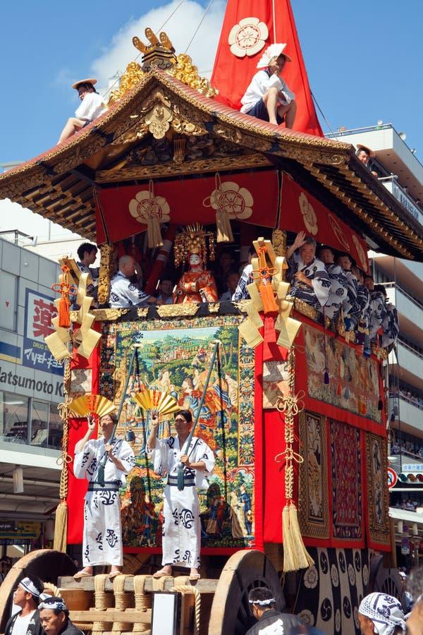 Gion Matsuri immagini stock