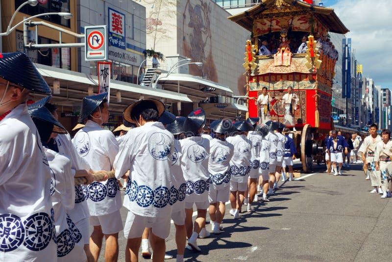 Gion Matsuri stock afbeelding