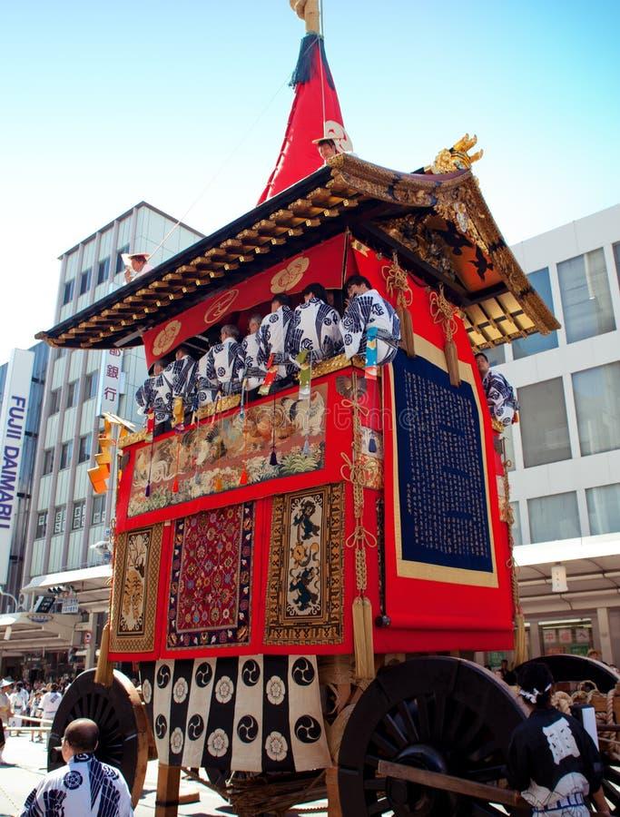 Gion Matsuri fotografia stock