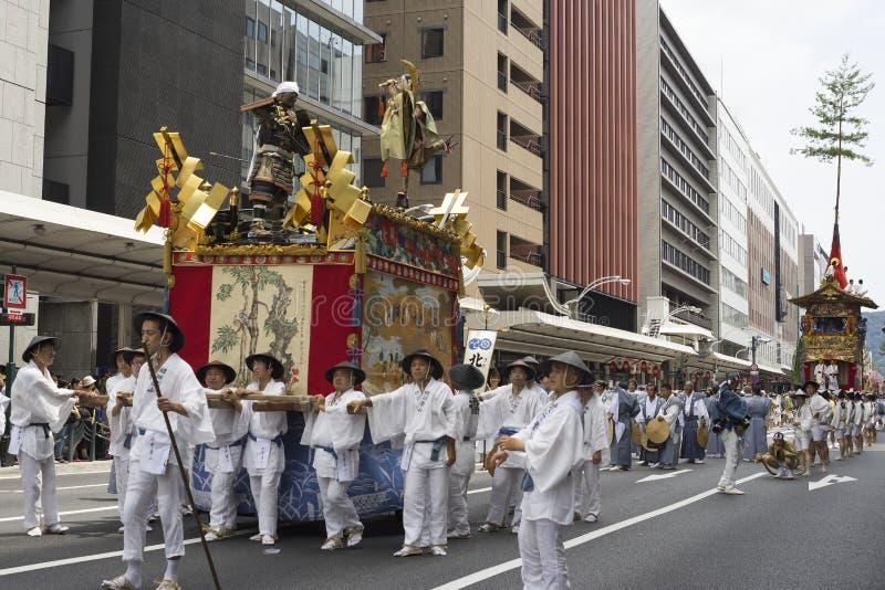 Gion Matsuri festival 3 royaltyfria bilder