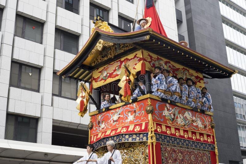 Gion Matsuri festival 8 arkivfoton