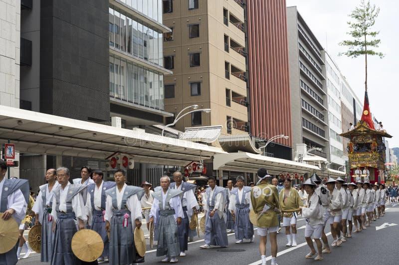 Gion Matsuri festival 4 royaltyfri bild