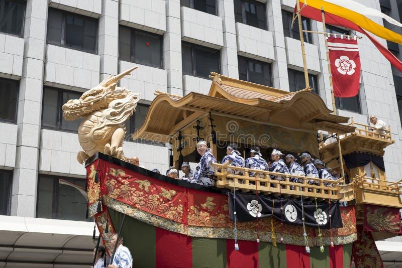 Gion Matsuri festival 11 royaltyfria bilder
