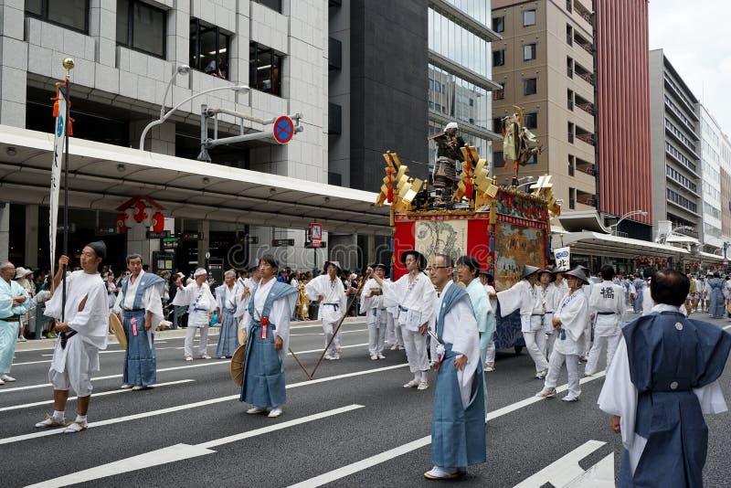 Gion Matsuri festival 2 arkivbilder