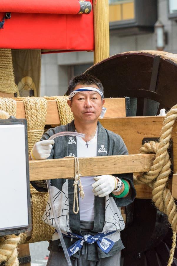 Gion Matsuri in Kyoto, Japan stock photo