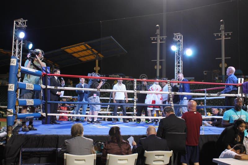 Giorgi Gelashvili, a Junior Welterweight Making His Professional Debut royalty free stock photo