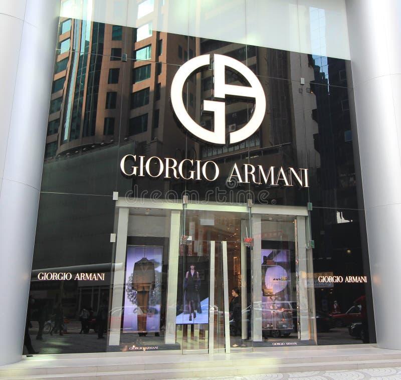 giorgio armani shop