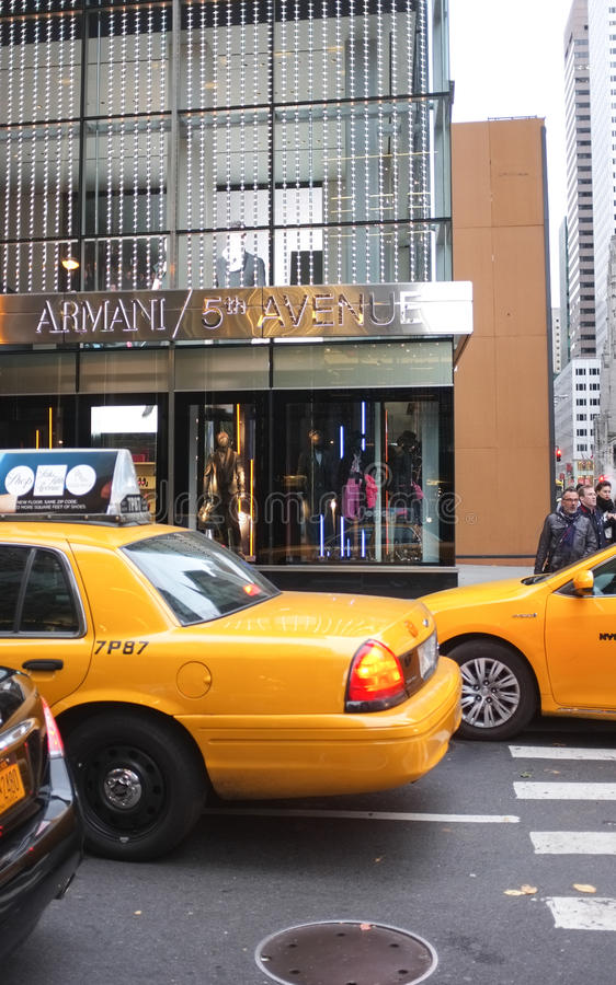 Download Giorgio Armani Store, New York City Editorial Stock Image - Image: 28833859