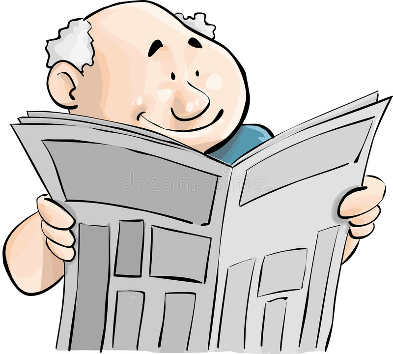 Giornale royalty illustrazione gratis