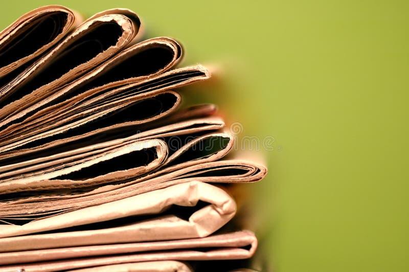 Giornale fotografie stock